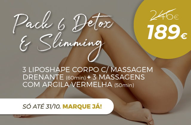 Pack 6 Detox & Slimming