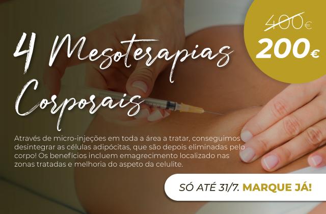 4 Mesoterapias Corporais