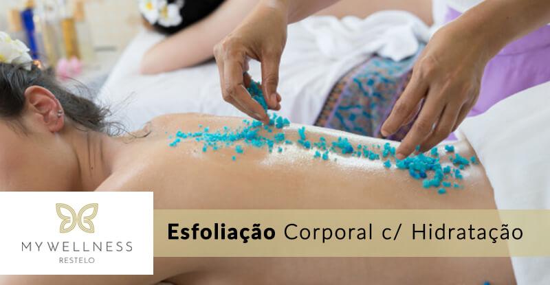 Esfoliação Corporal com Hidratação