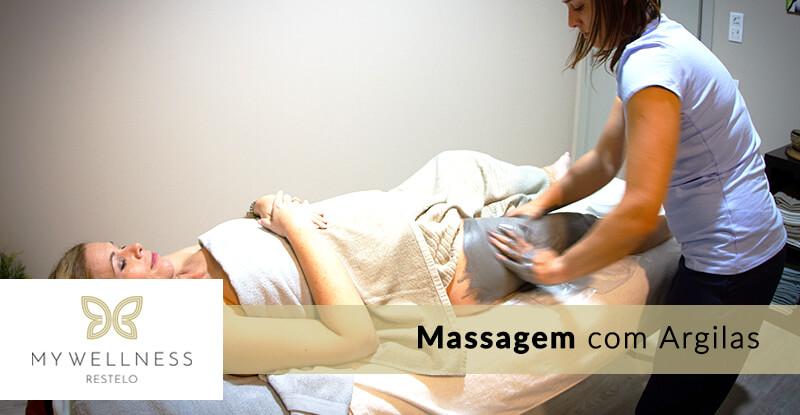 Massagem com Argilas